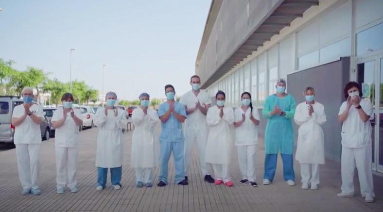 Imagen del vídeo del Área de Salud de Menorca