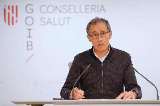 Javier Arranz, en rueda de prensa.