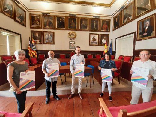 Presentación de los actos esta mañana en el Ayuntamiento de Maó