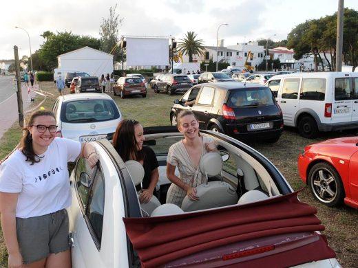 (Galería de fotos) Cine desde el coche en Alaior