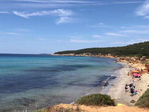 (Fotos) El verano se estrena en Menorca con calor