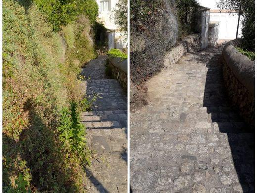 (Fotos) Maó mejora los accesos al puerto
