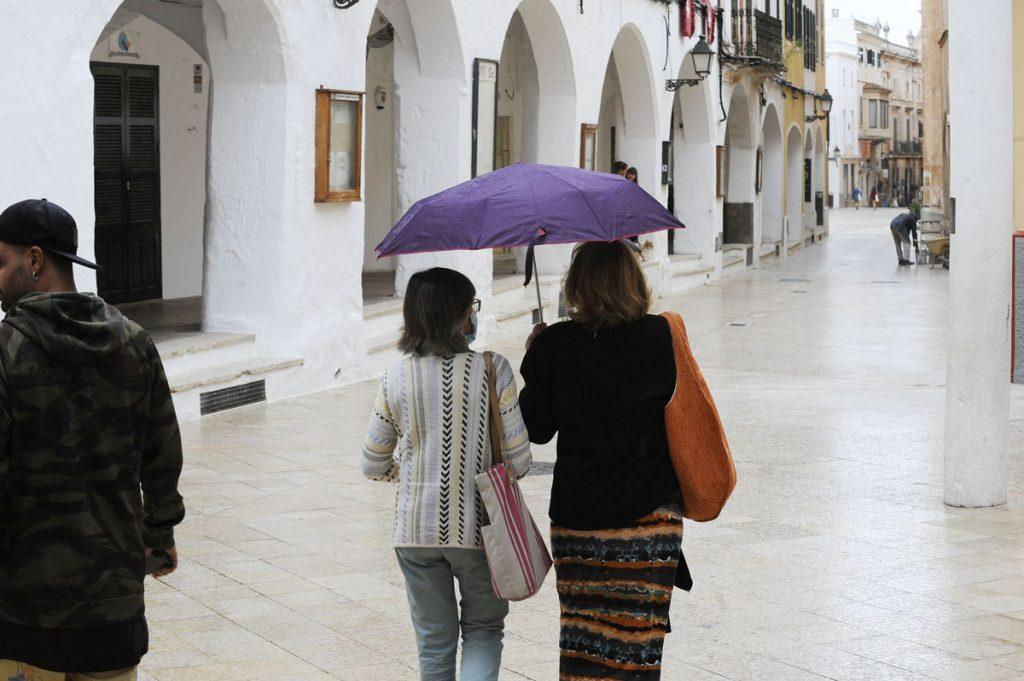 Las precipitaciones se prevén a partir del mediodía (Foto: Tolo Mercadal)