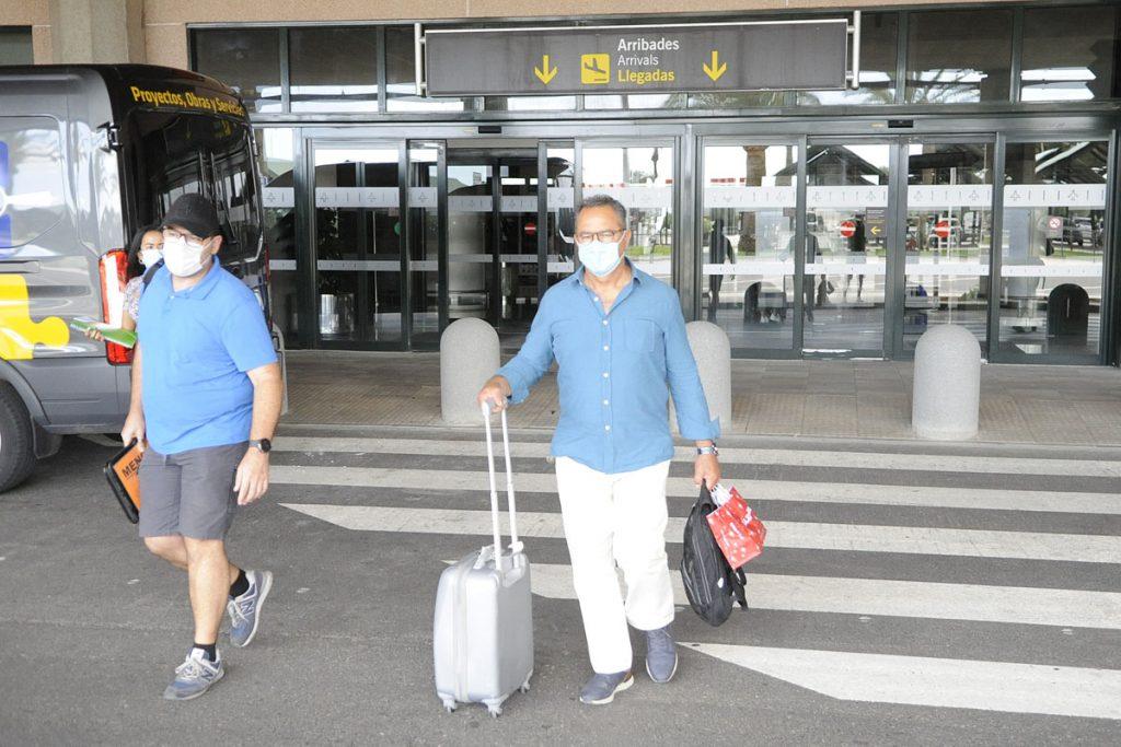 Poco a poco se reanuda la actividad aeroportuaria (Foto: T.M.)