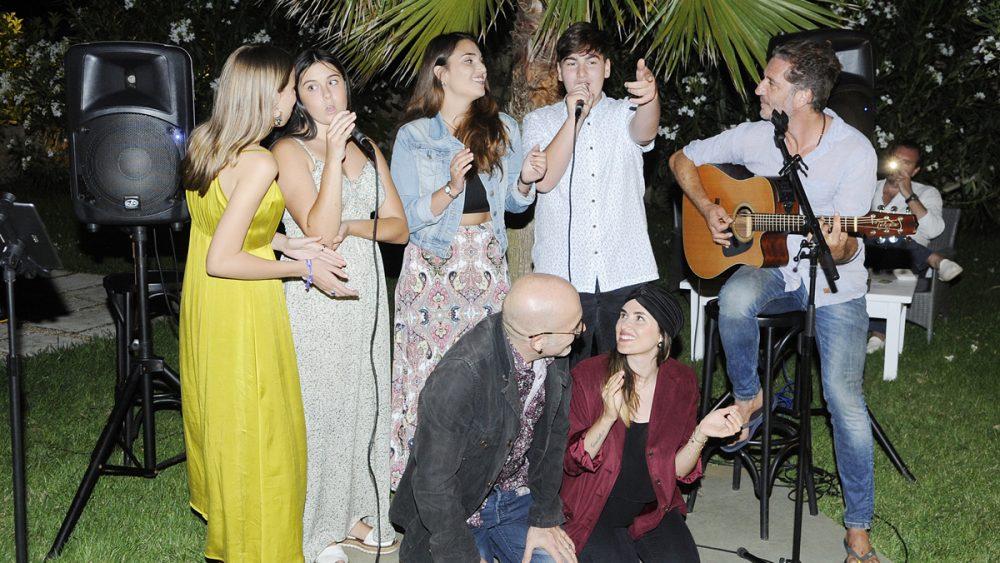 fiesta apertura restaurante villa blanca en sullestra
