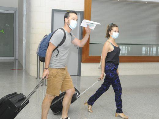 (Fotos) Ya están aquí los primeros turistas