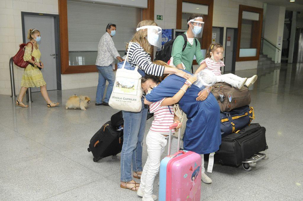 El sábado será el día con más tráfico aeroportuario en Menorca