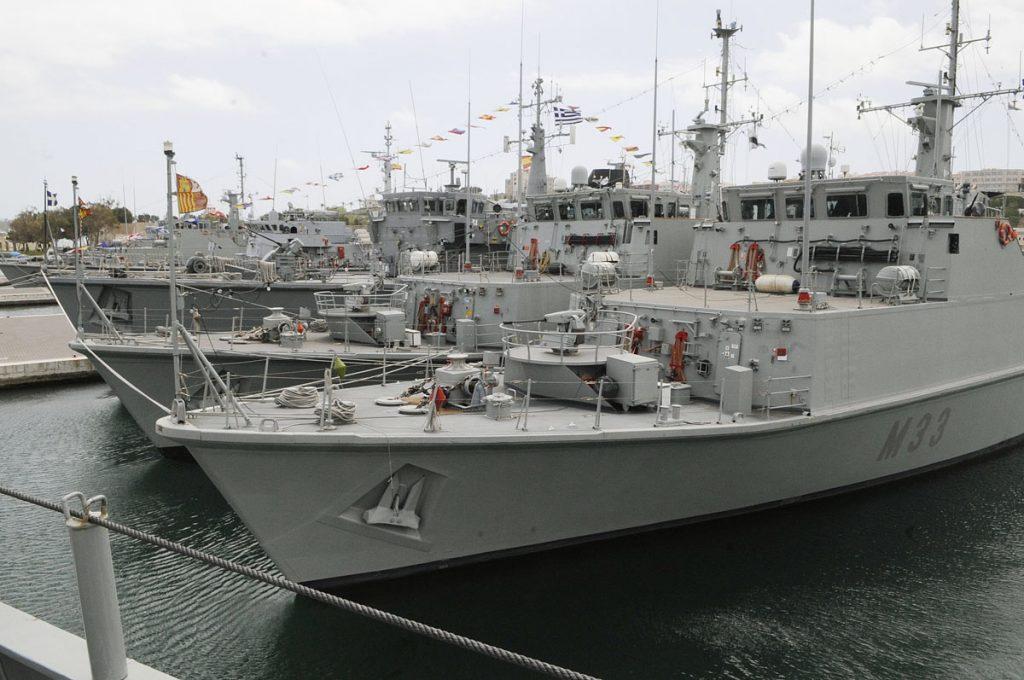 Efectivos de la Armada.
