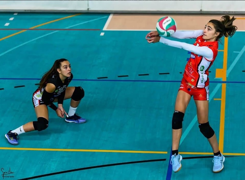 Olga Huguet, durante un partido.