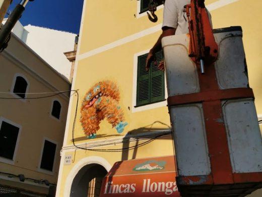"""(Fotos) """"Durante el confinamiento decidimos que Ciutadella Street Art no podía pararse"""""""