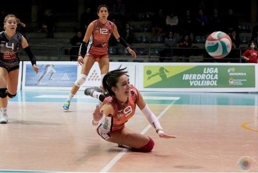 María Barrasa, una jugadora muy comprometida con el equipo