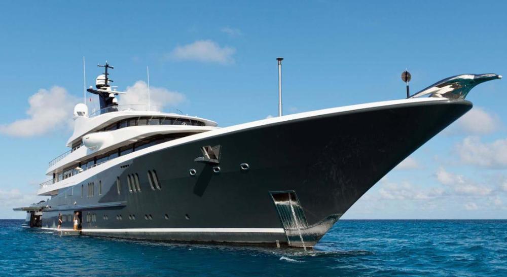 Una imagen del espectacular barco.