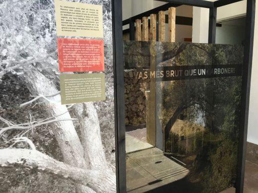 (Fotos) El oficio de carbonero en el Centre Artesanal de Menorca
