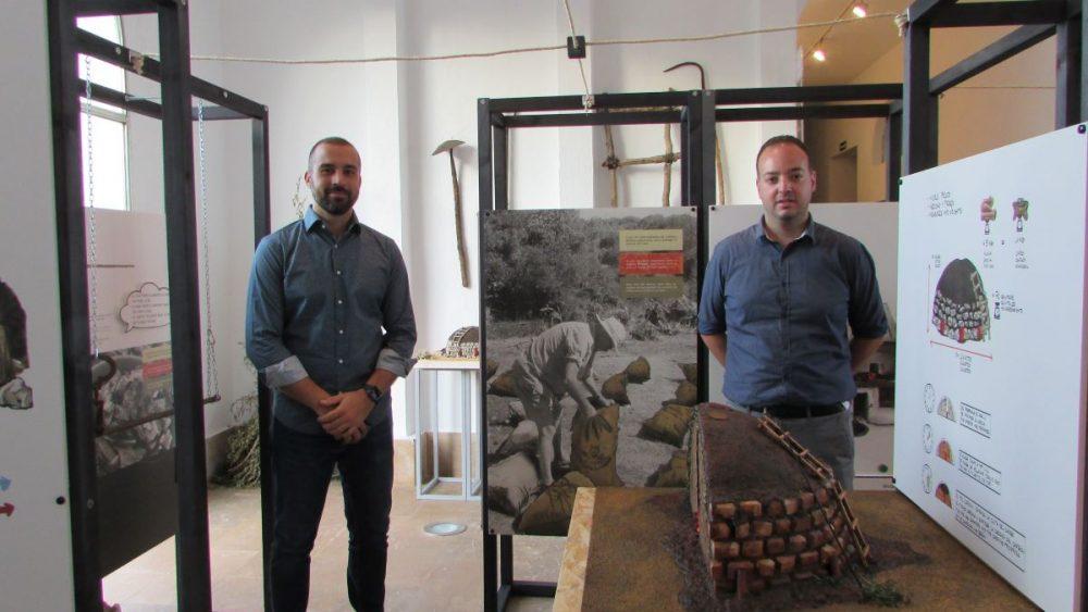 Imagen de la exposición sobre este oficio artesanal en el Centro de Es Mercadal