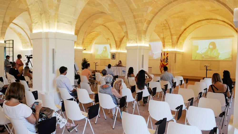 Imagen de la presentación de la sala (Fotos: Tolo Mercadal)
