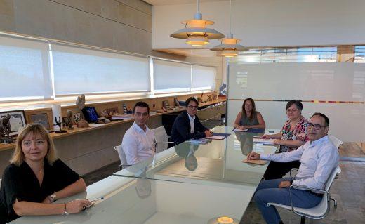 Imagen de la reunión celebrada esta mañana en Menorca
