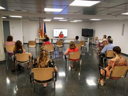 Imagen de la reunión celebrada este martes