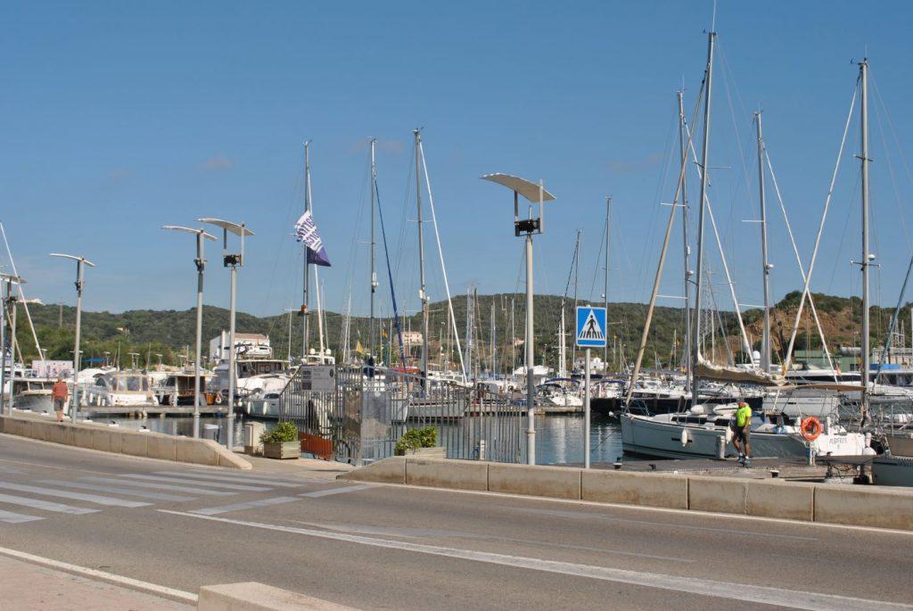 Moll de Ponent del puerto de Maó (Foto: EA)