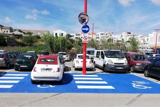 Nueva imagen de los aparcamientos en Maó
