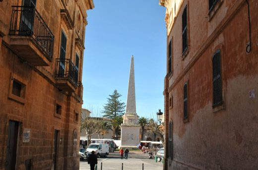 Obelisco del Born en Ciutadella