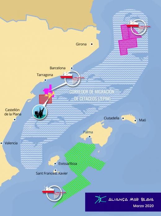 Proyectos activos y en tramitación de exploración y explotación de hidrocarburos
