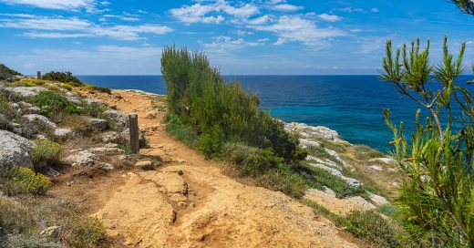 Tramo del Camí de Cavalls (Foto: Turisme de Menorca)