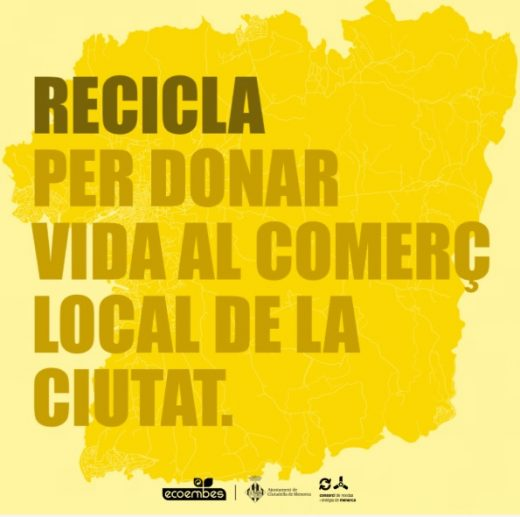 Un proyecto solidario con el comercio local