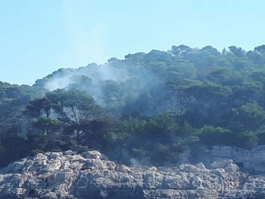 (Vídeos y fotos) El incendio de Es Migjorn, de cerca