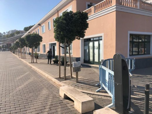 Sede de Autoridad Portuaria de Baleares en el puerto de Maó (Foto: Tolo Mercadal)