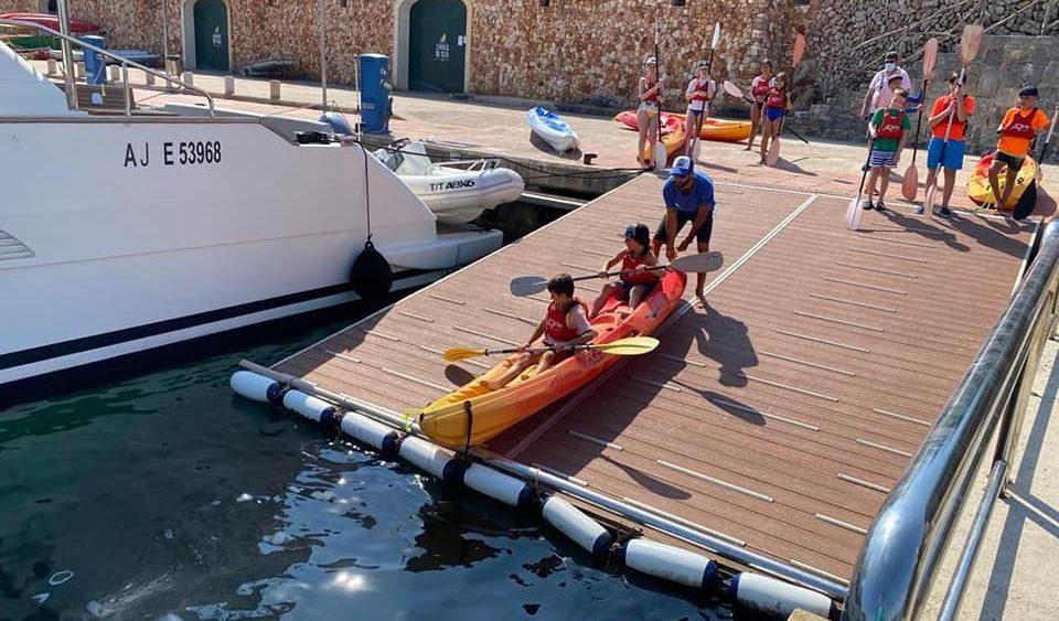 Los niños pasaron un día divertido (Fotos: Es Nàutic)