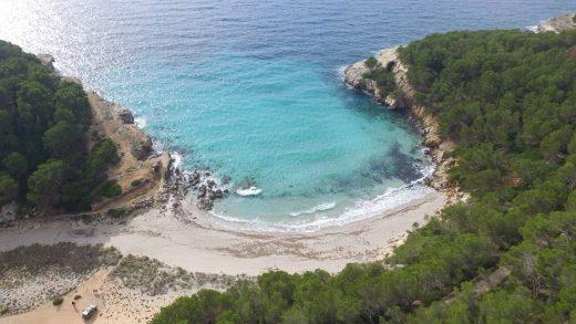 Imagen de Cala Escorxada (Foto: Turisme de les Illes Balears)