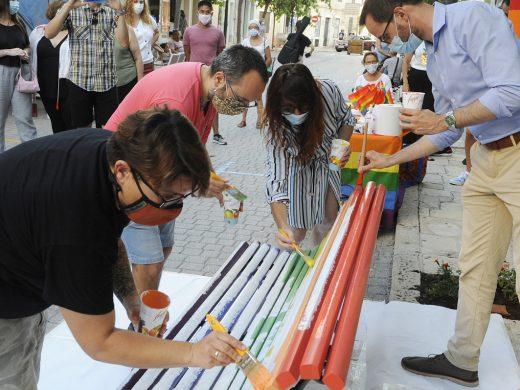 (Galería de fotos) El arco iris vuelve al banco de Ses Moreres