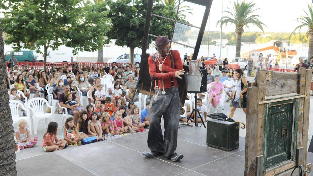 Imagen de la primera actuación de este verano (Foto: T.M.)