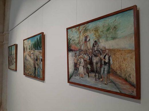 Una imagen de la exposición (Foto: Ajuntament de Maó)