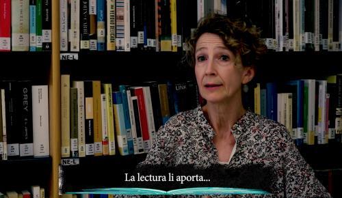 Imagen del vídeo que divulgarán las bibliotecas de Menorca