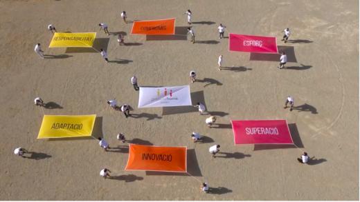 Imagen del video conmemorativo de la entidad (Foto: Projecte Home Balears).