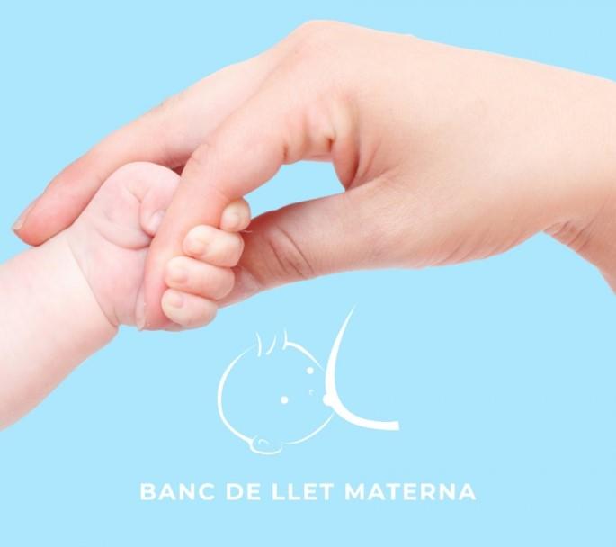Cartel de Banco de Leche materna