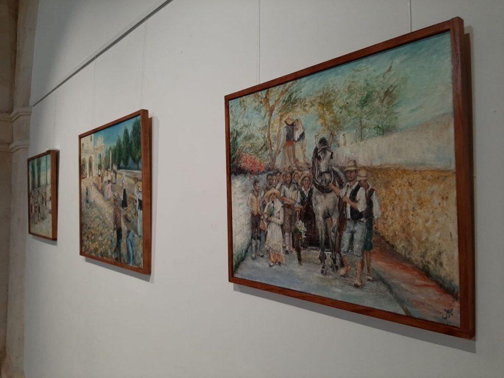 Imagen de la exposición de Julia Melià