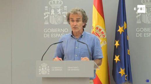 Fernando Simón, en rueda de prensa.