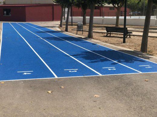 (Fotos) Alaior reforma sus instalaciones deportivas