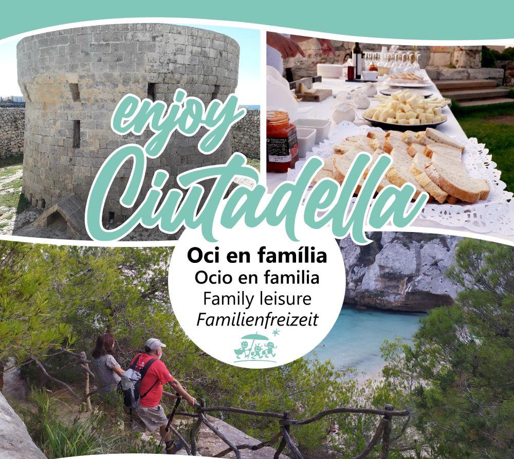 Imagen del cartel del programa Enjoy Ciutadella