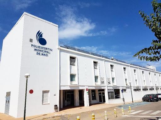 Imagen del polideportivo municipal de Maó.
