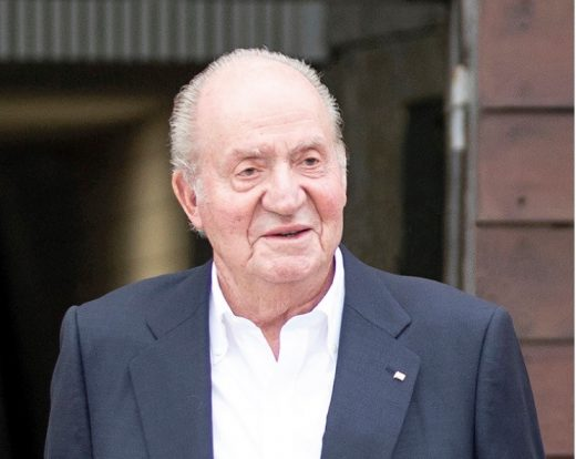 Imagen del rey emérito Juan Carlos I.