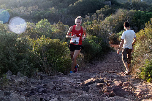 Maria Fiol, en plena ascensión (Foto: deportesmenorca.com)