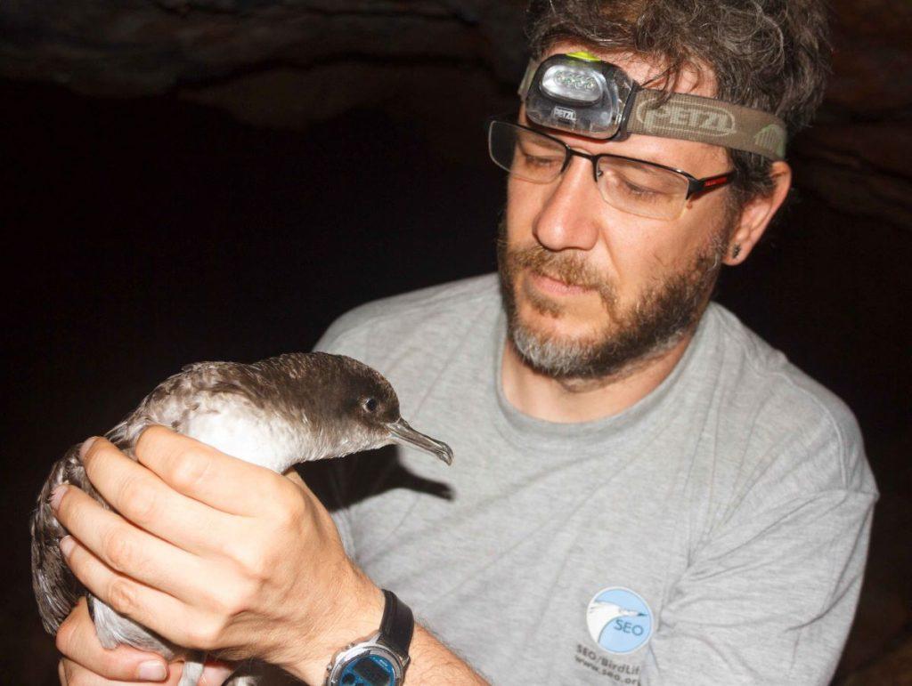 Pep Arcos, coordinador del Programa marino de SEO/BirdLife