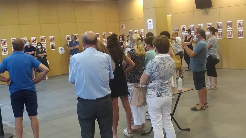 Un momento de la inauguración (Foto: Ajuntament de Ferreries)