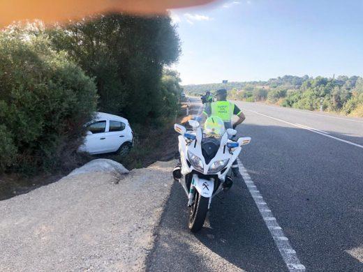 (Fotos) Accidente múltiple en Es Plans