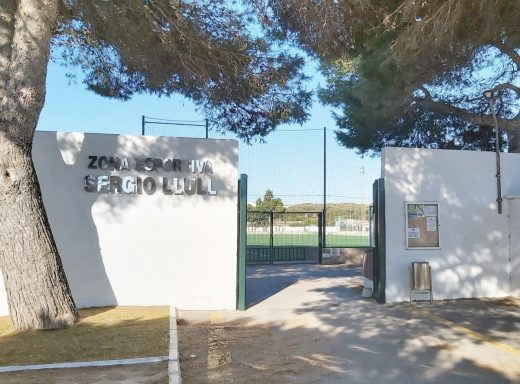 Zona deportiva de Es Castell