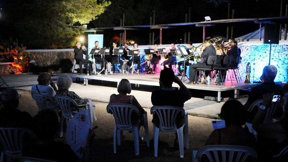 Imagen de un momento del concierto (Fotos: Tolo Mercadal)