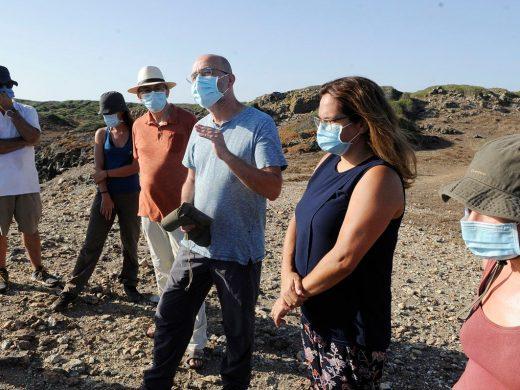 (Fotos) Sa Mitja Lluna, una mina prehistórica de la edad del bronce en la Illa d'en Colom